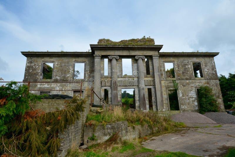 Rovine del castello di St John immagini stock