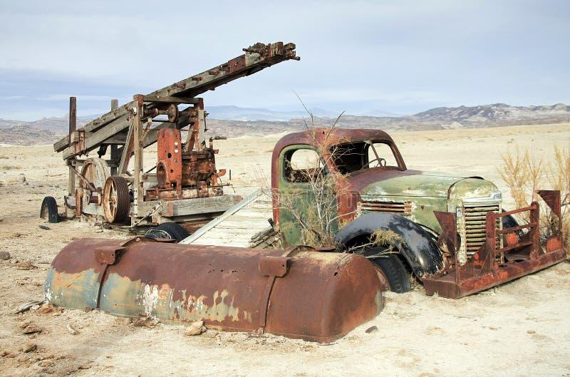 Rovine del deserto in valle della cattedrale alla scogliera NP del Campidoglio nell'Utah fotografia stock