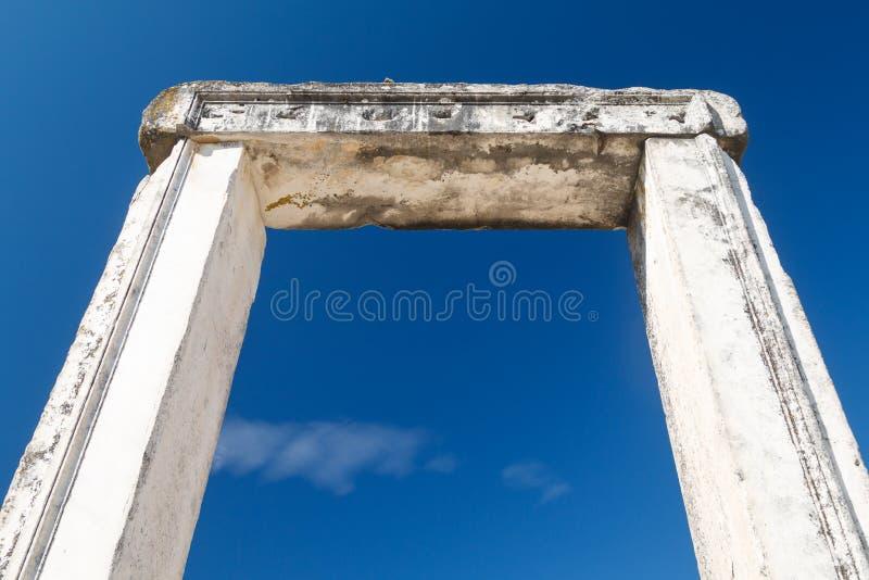 Rovine del santuario antico Lagina fotografia stock libera da diritti