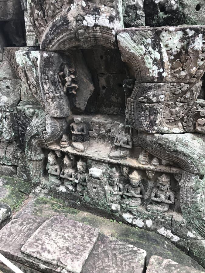 Rovine del tempio in Cambogia immagine stock libera da diritti