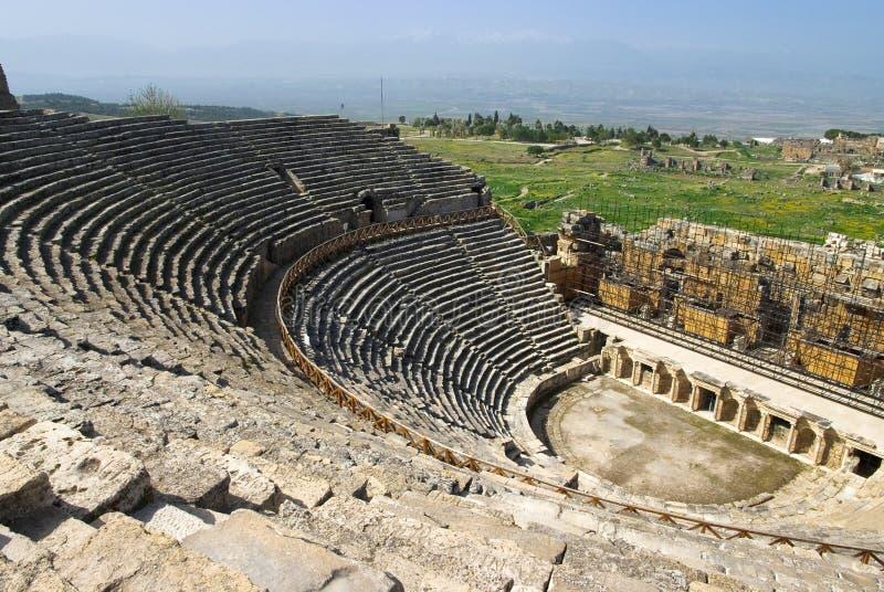 Download Rovine Dell'anfiteatro In Hierapolis, Turchia Immagine Stock - Immagine di arte, giorno: 56881713