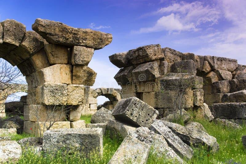 Download Rovine Della Città Antica Di Hierapolis Immagine Stock - Immagine di immagine, storia: 56882243