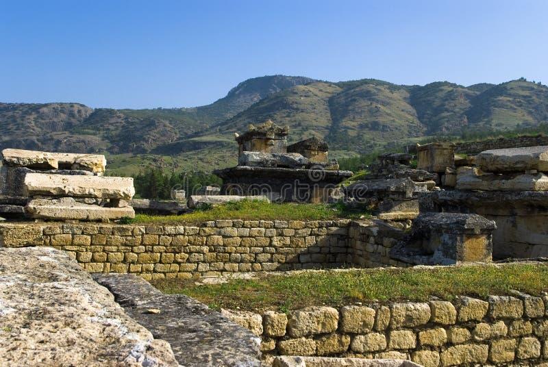 Download Rovine Della Città Antica Di Hierapolis Fotografia Stock - Immagine di coltura, antichità: 56883170