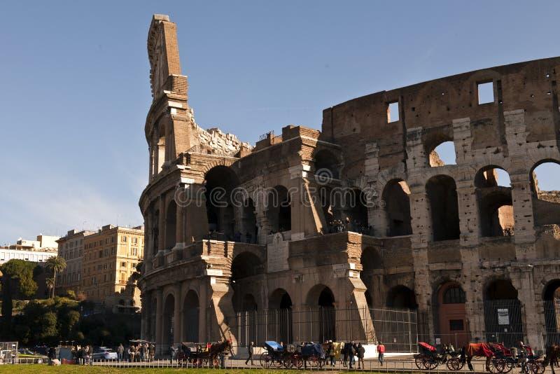 Rovine della città antica di Roma fotografia stock libera da diritti