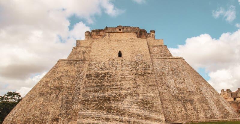 Rovine della città antica di Uxmal immagine stock libera da diritti