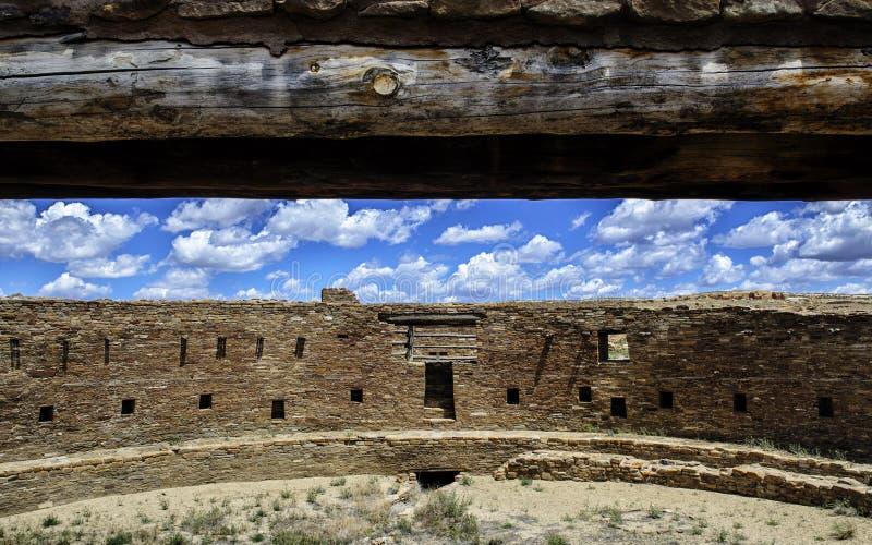 Rovine della coltura di Chaco immagini stock libere da diritti