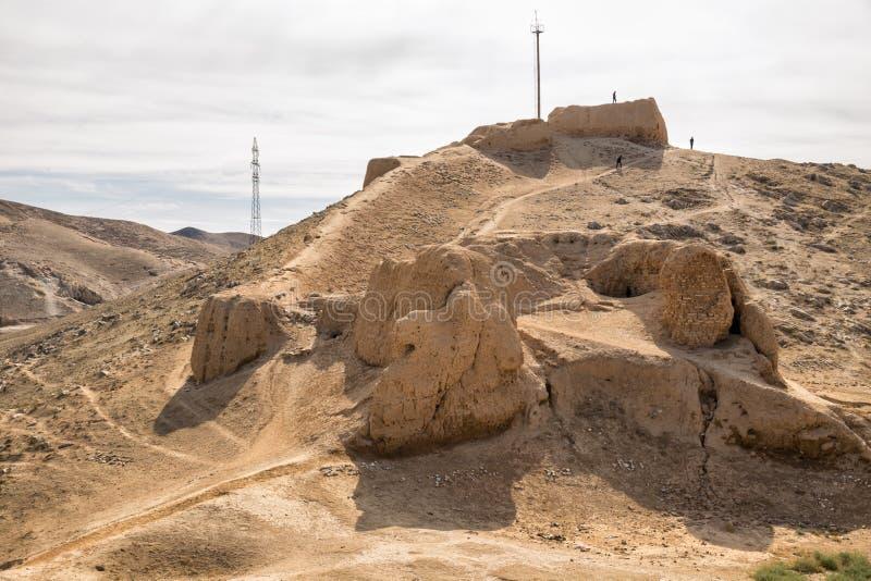 Rovine della fortezza Nur fotografia stock