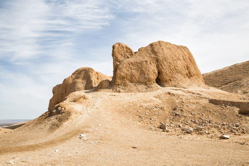 Rovine della fortezza Nur immagine stock
