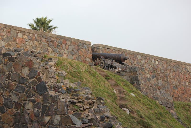 Rovine della fortificazione di Colonia fotografia stock libera da diritti