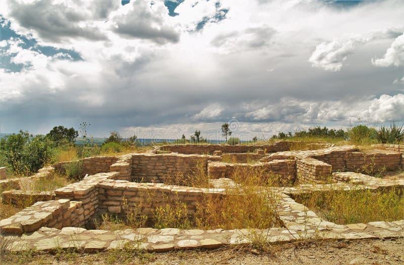 Rovine di Anasazi fotografia stock