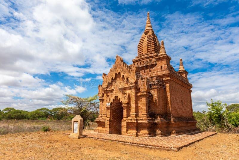 Rovine di Bagan, Myanmar Religione buddista fotografia stock libera da diritti