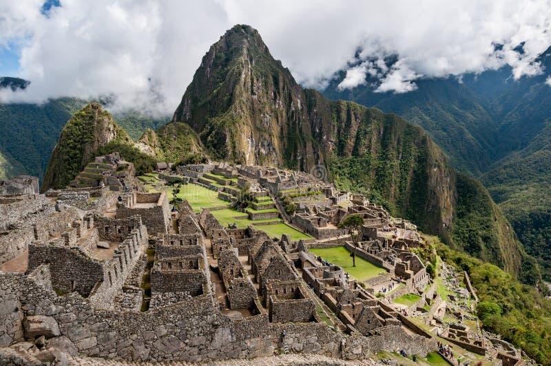 Rovine di Machu Picchu immagine stock