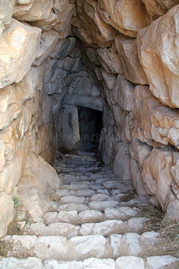 Rovine di Micene antico, Grecia immagine stock