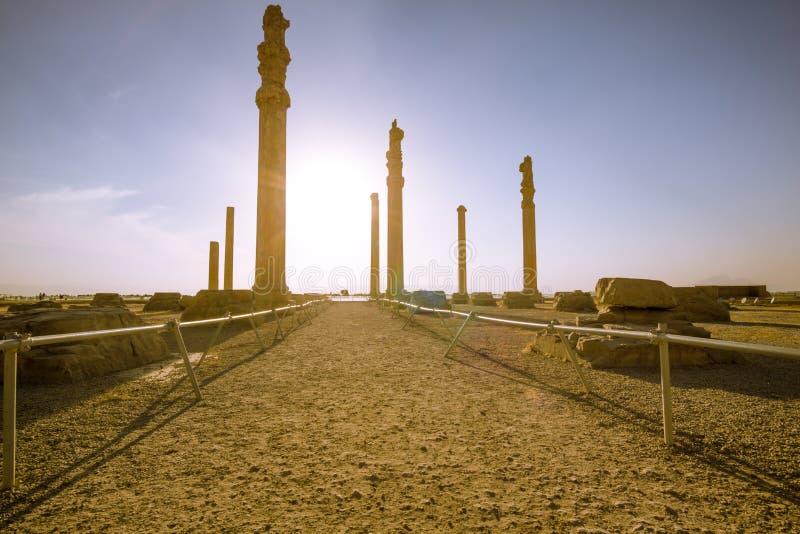 Rovine di Persepolis fotografia stock