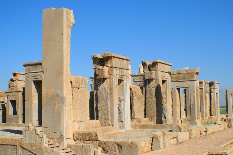 Rovine di Persepolis, Iran immagine stock