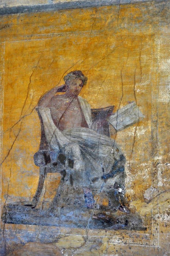 Rovine di Pompei, Italia fotografie stock