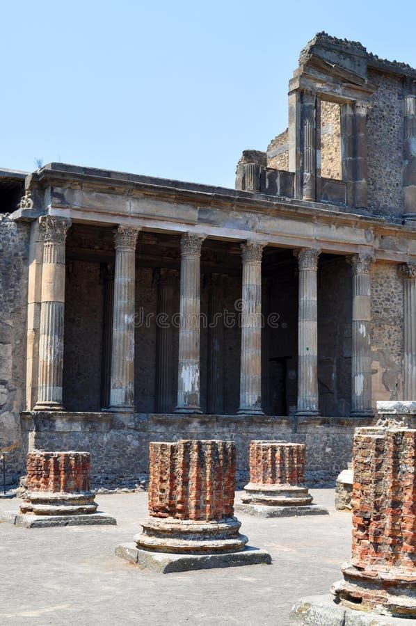 Rovine di Pompei, Italia fotografie stock libere da diritti