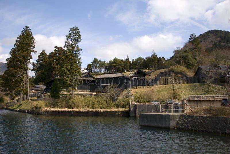 Rovine di Sekisho, Hakone, Giappone immagine stock libera da diritti