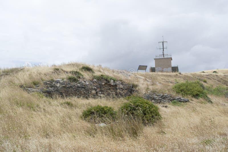 Rovine di vecchio capo Jervis Whaling Station, penisola di Fleurieu, così fotografia stock libera da diritti
