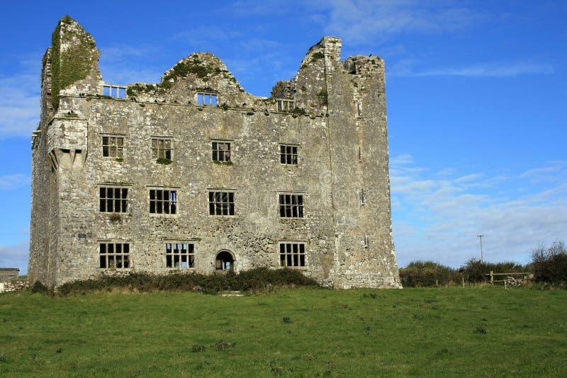 Rovine irlandesi del castello fotografia stock