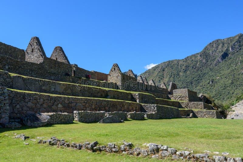 Rovine a Machu Picchu, Perù fotografia stock libera da diritti