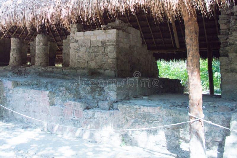 Rovine maya fotografie stock