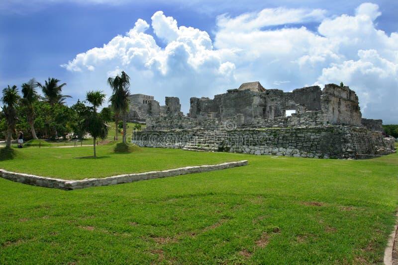 Rovine Mayan immagine stock