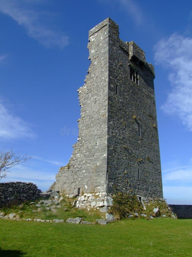 Rovine normanne del castello immagini stock