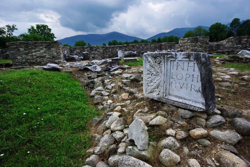 Rovine romane immagini stock libere da diritti