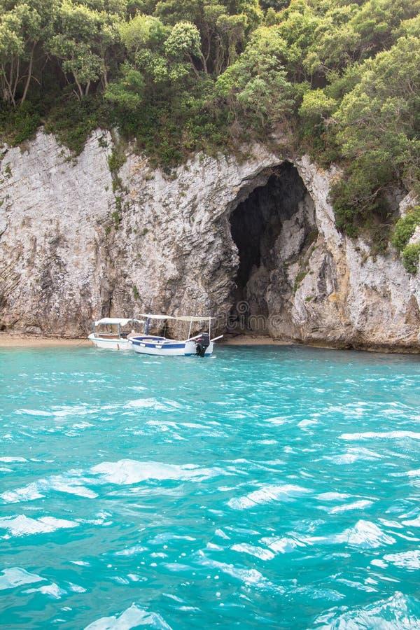 Rovinia-Strand, Korfu, Griechenland lizenzfreie stockfotografie