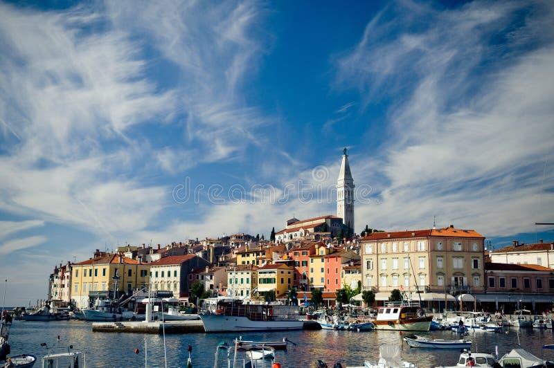 rovinj Хорватии стоковая фотография