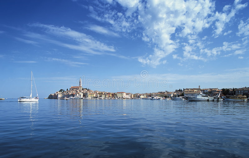 Rovinj, Croatia imagem de stock