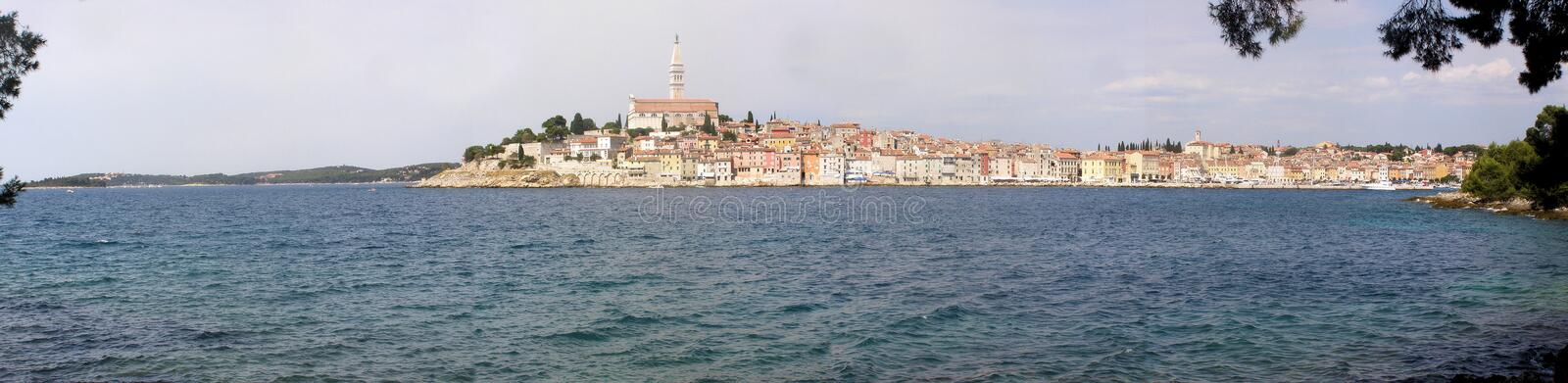 Rovinj - Croatia panorama royalty free stock images