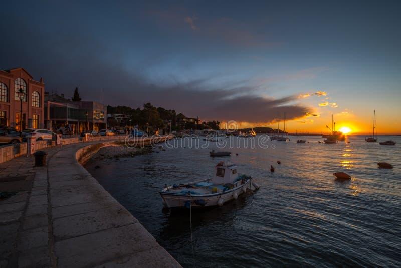 Rovinj, Istria, Kroatië, detail royalty-vrije stock foto