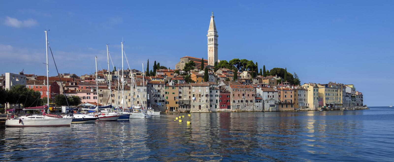 Rovinj - Istrian Peninsula - Croatia royalty free stock images