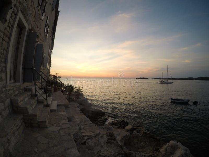 Rovinj, Kroatien stockfotografie