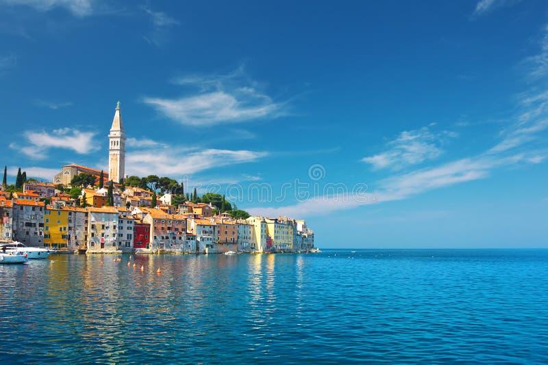 Rovinj Kroatien royaltyfri bild