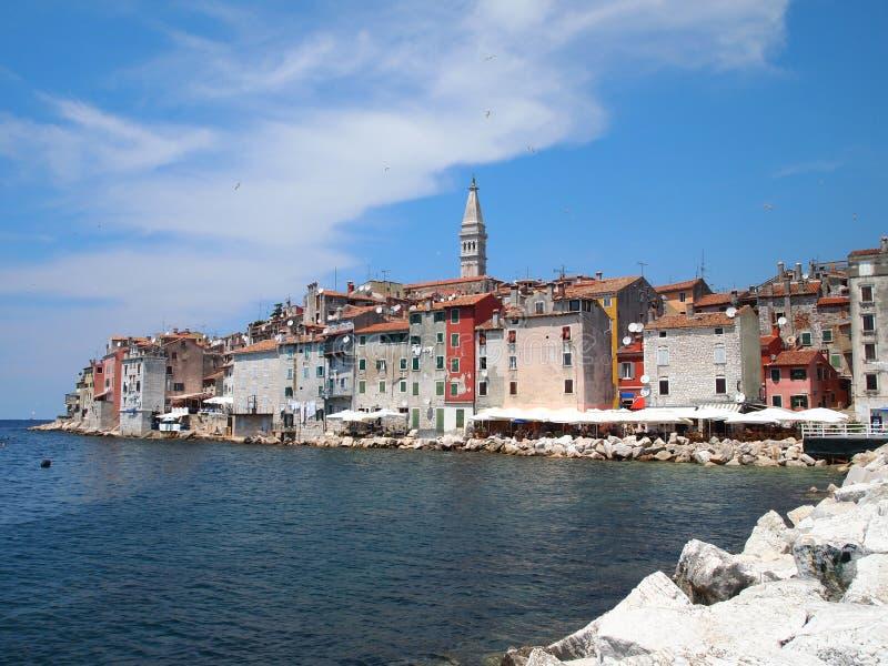 Rovinj old town in Croatia