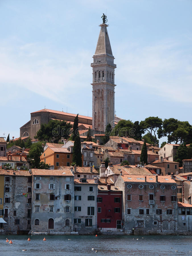 Download Rovinj old town in Croatia stock photo. Image of destination - 24267042