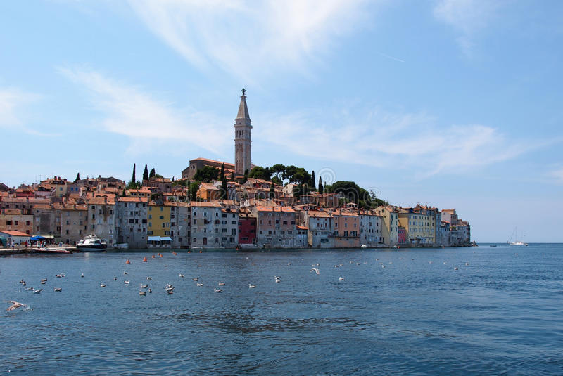 Download Rovinj old town in Croatia stock image. Image of outdoor - 24580923