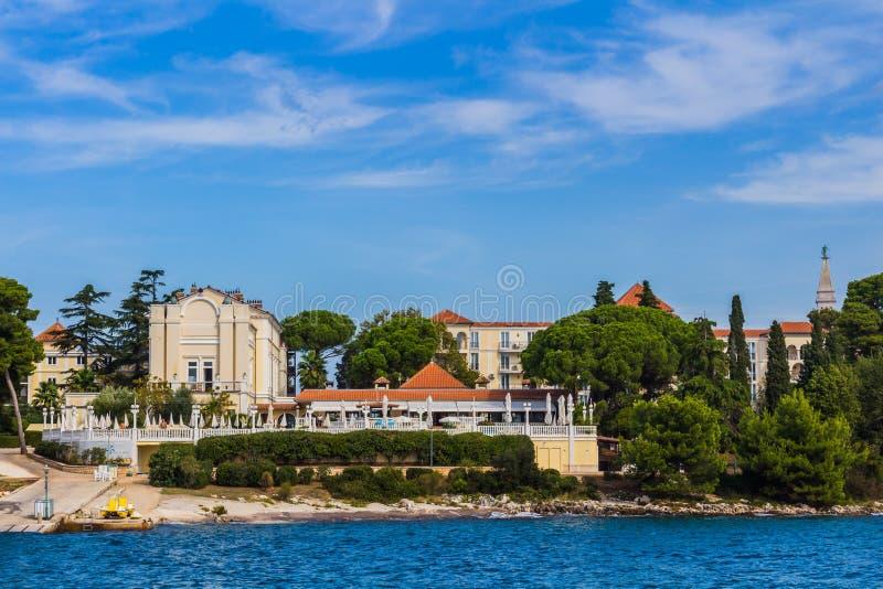 Rovinj, piękny stary miasteczko w Istria Chorwacja, Europa zdjęcia stock