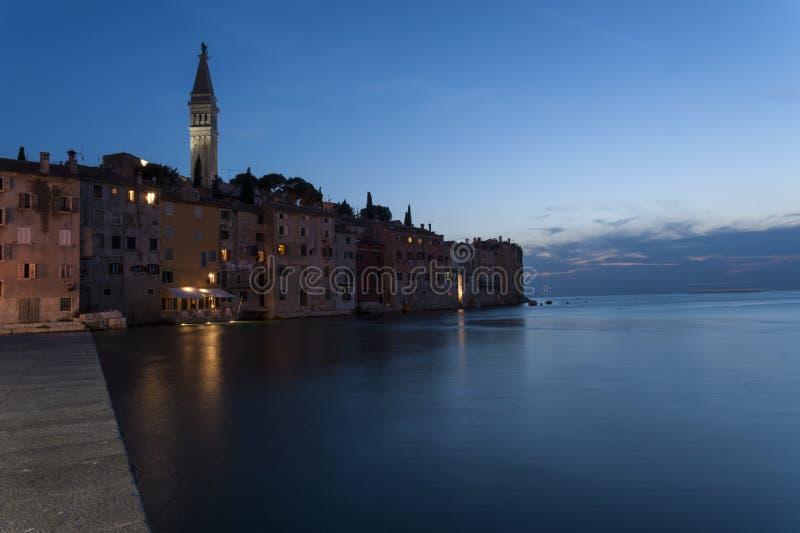 Rovinj senset, Kroatië royalty-vrije stock foto's