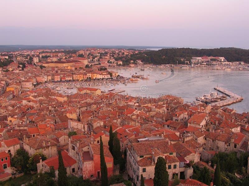 Download Rovinj - Vieille Ville Avec Le Compartiment Image stock - Image du destination, croatia: 727055