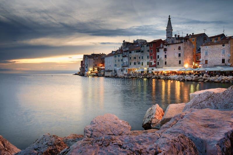 Rovinjhaven, Istria royalty-vrije stock fotografie