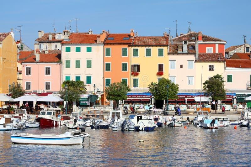 Rovinjhaven, Kroati? royalty-vrije stock afbeelding