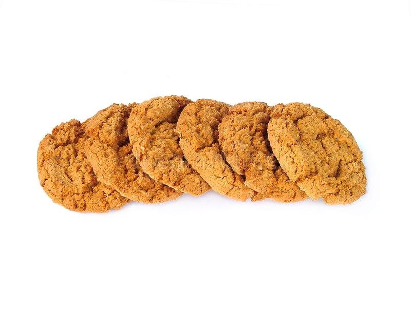 Download Row of biscuits stock photo. Image of food, yummy, healthy - 147898