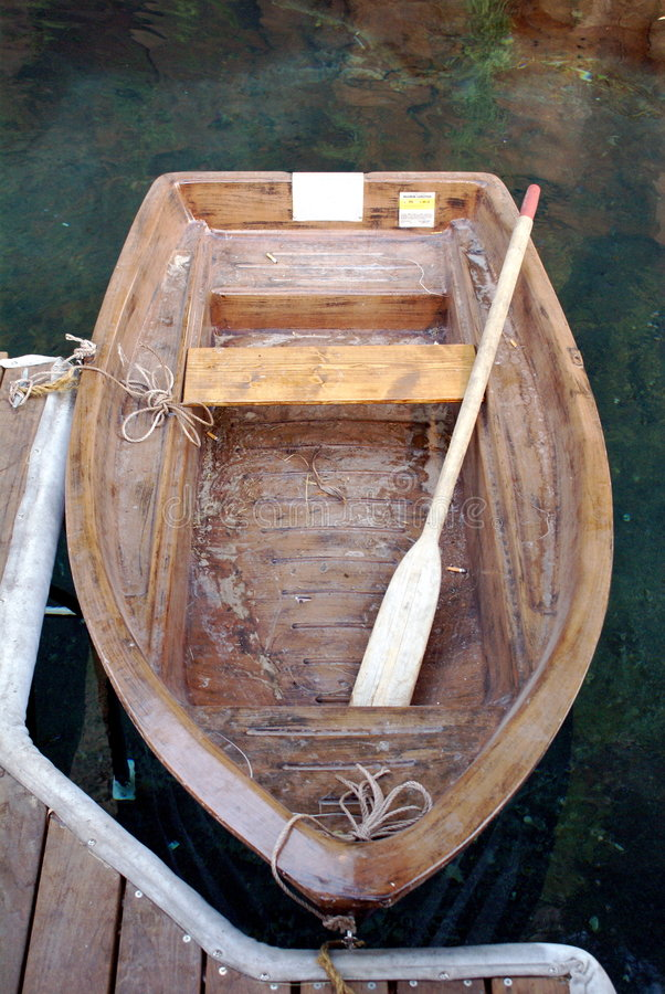 Row boat stock image