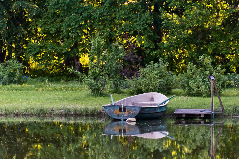 Download Row Boat stock image. Image of daytime, fishing, boat - 21701413