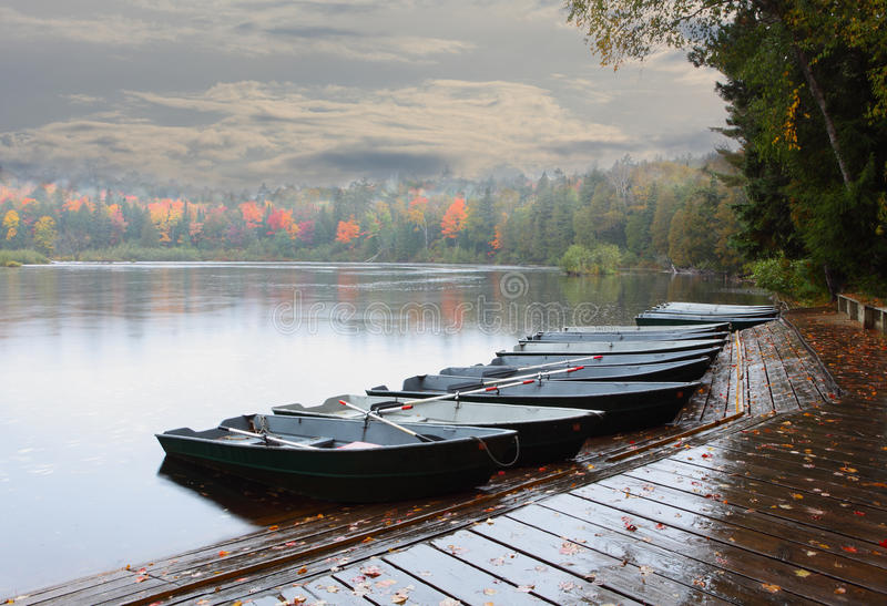 Row Of Boats Royalty Free Stock Images