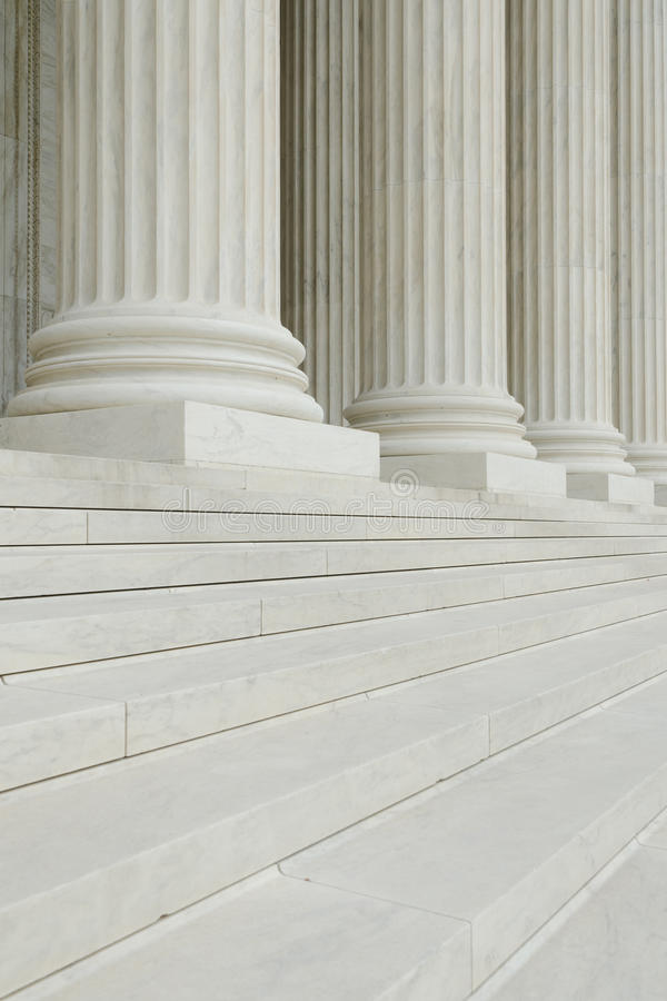 Download The Row Of Classical Columns With Steps Stock Photo - Image: 19737918